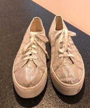 Glitzernde Superga sneaker in 42
