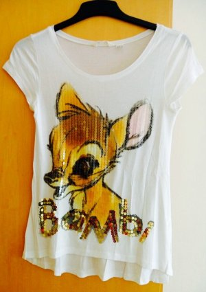 Glitzerndes Bambi T-Shirt