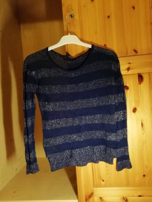 Tally Weijl Gebreid shirt blauw-donkerblauw Synthetisch