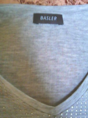 Basler T-shirt gris