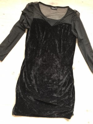 Janina Robe à manches longues noir