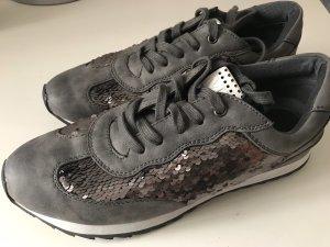 Marco Tozzi Sneaker stringata grigio scuro