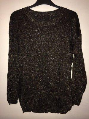 Zara Pull noir-bronze