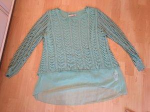 F&E Pull en crochet multicolore