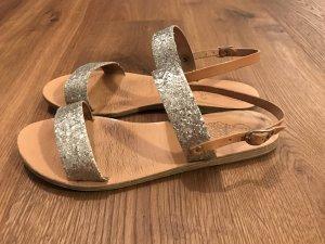 Glitzersandalen von Ancient Greek Sandals