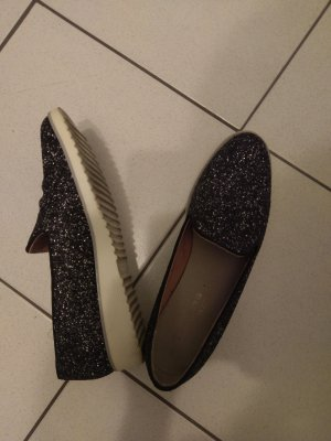 Tamaris Slippers black-silver-colored