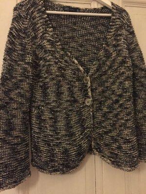 Zara Veste en tricot multicolore tissu mixte