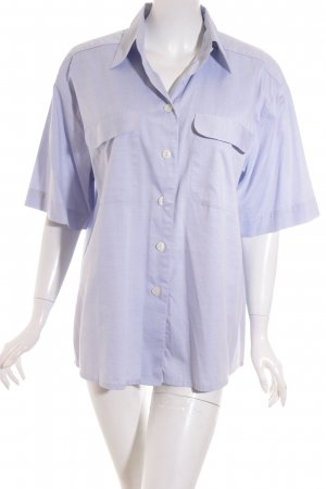Globe Trotter Kurzarmhemd himmelblau Casual-Look