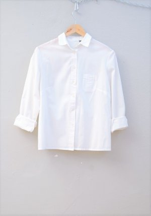 GLOBETROTTER - Klassiches Weißes Hemd