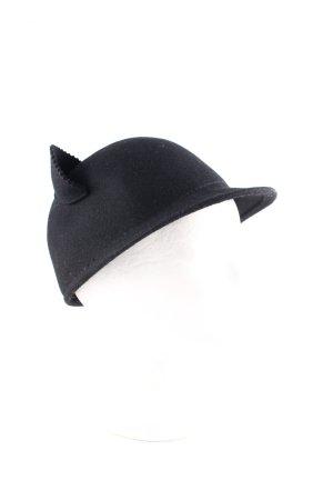 Glockenhut schwarz Retro-Look