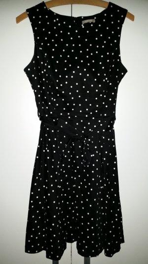 Glockenkleid mit dots in Gr.38 von Orsay