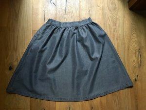Minimum Flared Skirt anthracite-dark grey
