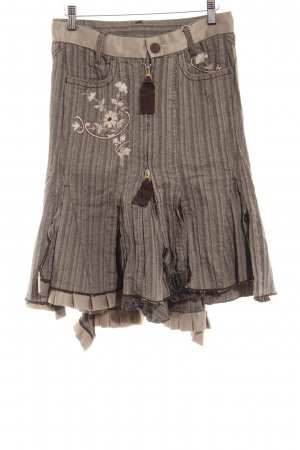 Flared Skirt flower pattern extravagant style