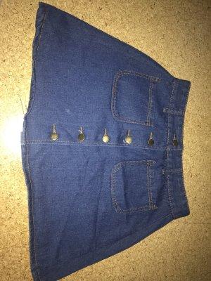Flared Skirt blue-dark blue