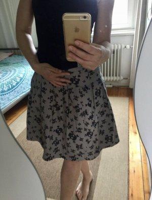 Flared Skirt grey-light grey