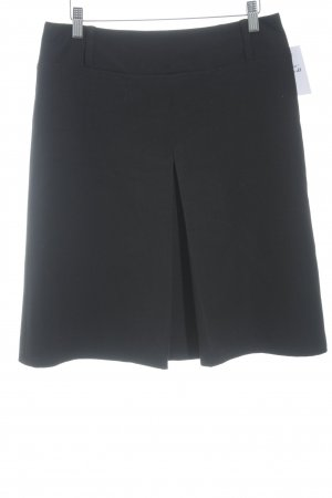 Jupe évasée noir style minimaliste