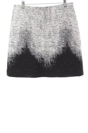 Klokrok zwart-wolwit abstract patroon vintage uitstraling