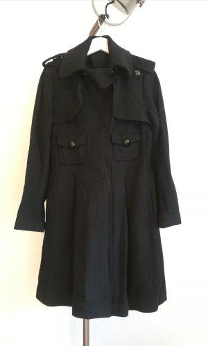 Glockig schwingender Mantel mit Trench-Elementen von Kookai
