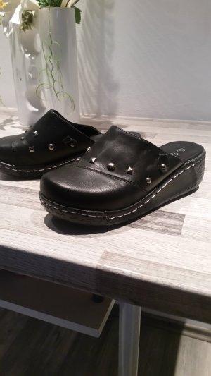 Emilia Lay Plateauzool Sandalen met Hoge Hakken zwart