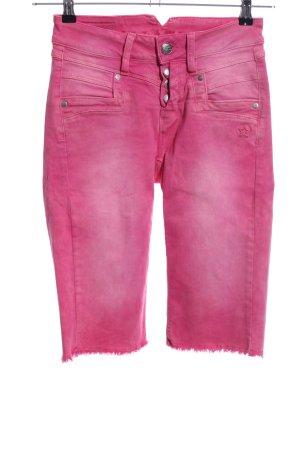 Glücksstern 3/4 Jeans pink Casual-Look