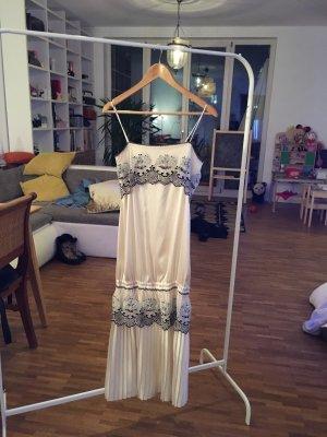 GMK wunderschöne 20iger Jahre Optik, seidenes Spitzen besticktes Couture Kleid