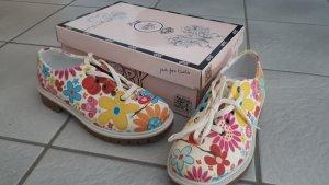 Goby Sneakers met veters veelkleurig Textielvezel