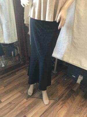 Apart Flared Skirt black spandex