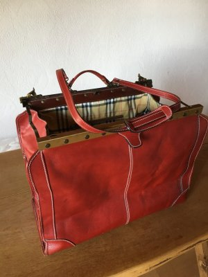 Travel Bag multicolored leather