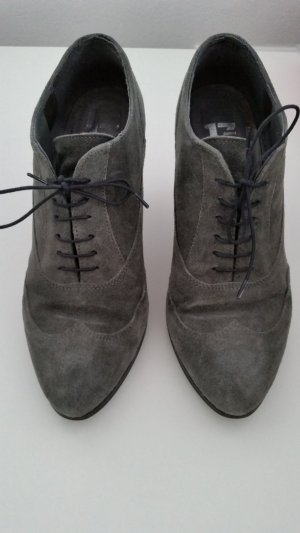 Görtz 17 Lace-up Booties grey suede