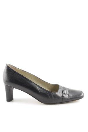 Görtz 17 Chaussure décontractée noir style d'affaires