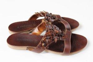 GÖRTZ Leder-Sandalette