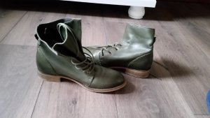 Görtz Shoes Lace-up Boots khaki leather