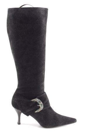 Görtz Shoes Absatz Stiefel schwarz Elegant
