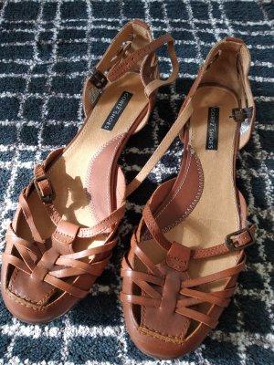 Görtz Shoes Sandales à lanière brun