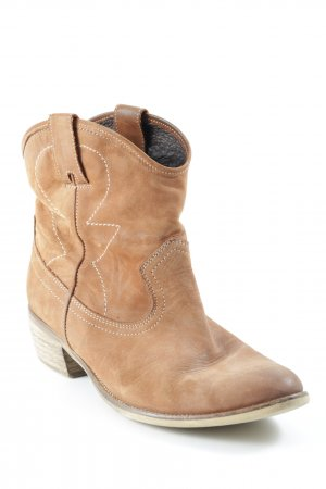 Görtz Shoes Booties camel Street-Fashion-Look