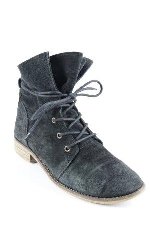 Görtz Shoes Desert Boots schwarz-hellbraun Casual-Look