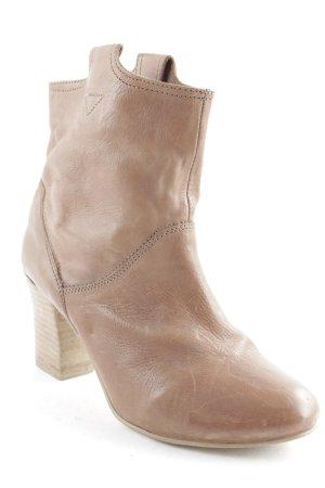 Görtz Shoes Schlüpf-Stiefeletten hellbraun klassischer Stil