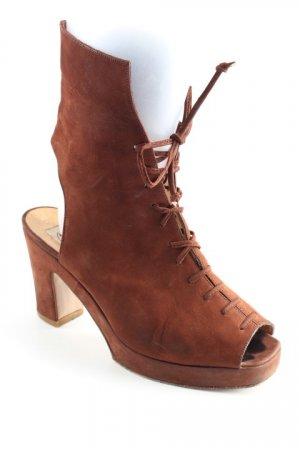 Görtz Shoes Décolleté stringata marrone stile country