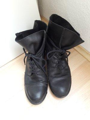 Görtz Shoes Schnür-Stiefeletten schwarz Gr. 37