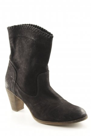 Görtz Shoes Western-Stiefeletten schwarz-braun Country-Look
