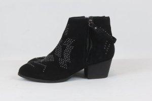Görtz Stiefelette Ankle Boots Gr. 39 schwarz mit Nieten