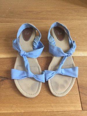 Görtz 17 Espadrille Sandals cornflower blue