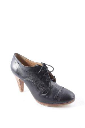 Görtz17 Schnür-Stiefeletten schwarz Elegant