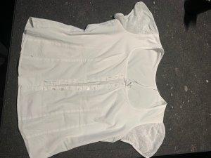gössl Traditional Blouse white cotton