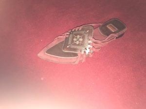 Romeinse sandalen donkerbruin-bordeaux