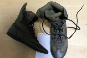 Gola Lace-up Boots black-dark green