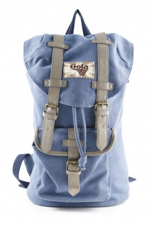 Gola School Backpack steel blue casual look