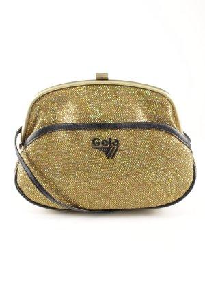 Gola Umhängetasche goldfarben-braun extravaganter Stil