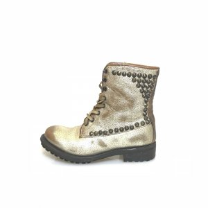 ASH High Boots gold-colored