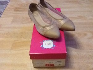 Gold/ Beige Ballerinas Gr 37